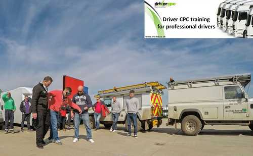 SRC Driver Training Day - CPC Drug & Alcohol Awareness